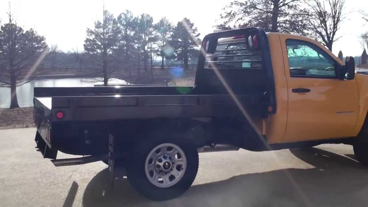 2013 CHEVROLET SILVERADO 3500 HD FLAT BED 4X4 FOR SELL SEE ...