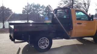 2013 CHEVROLET SILVERADO 3500 HD FLAT BED 4X4 FOR SELL SEE WWW SUNSETMILAN COM