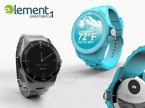 element1 smartwatch - Official Trailer