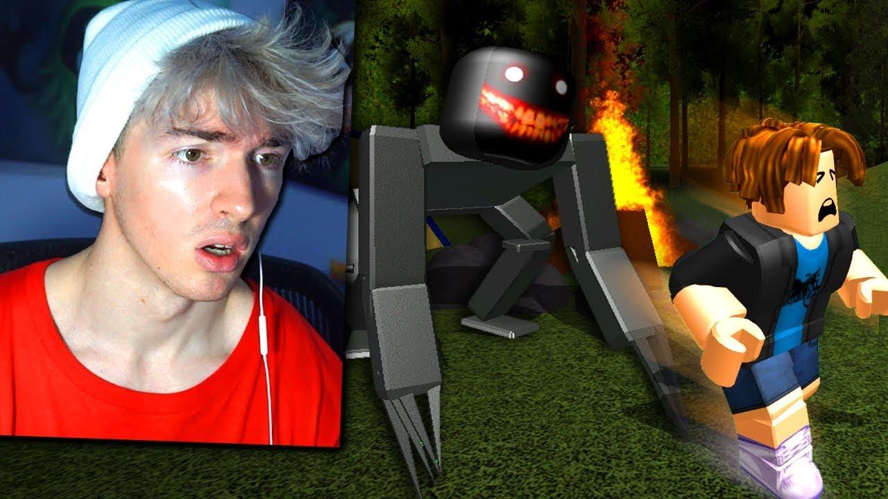 Roblox Camping Really Weird Ending Facecam Youtube