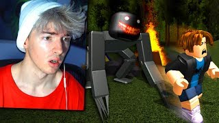 ROBLOX CAMPING REALLY WEIRD ENDING (FACECAM)