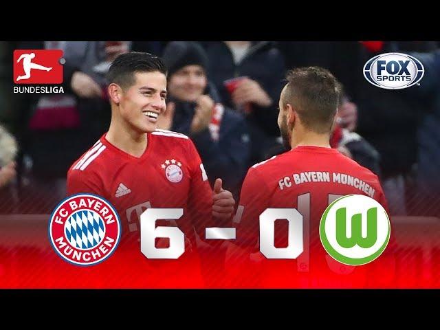 MASSACRE DO NOVO LÍDER! Veja como foi Bayern 6 x 0 Wolfsburg pela Bundesliga
