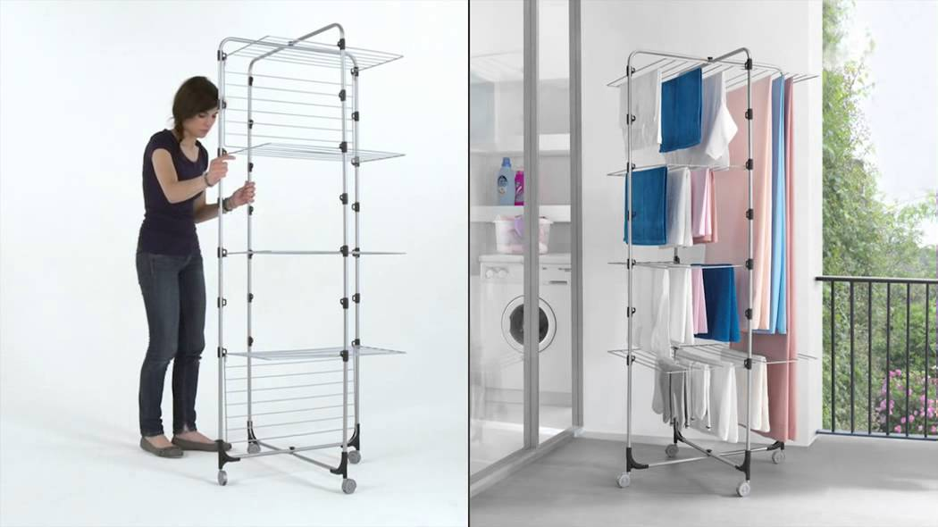 Nizza Maxi Tower Foldable Laundry Dryer By Metaltex
