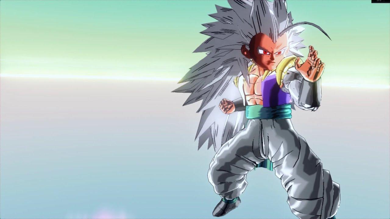 Super Saiyan 5 Gotenks Mod(Transformable) Dragon Ball ...