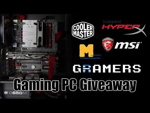 100.000 συνδρομητές Gaming PC Giveaway (Greece,Cyprus only)