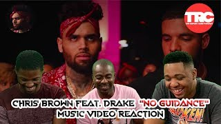 """We check out the music video to """"no guidance"""" by chris brown featuring drake. what did think about it? our reactions and let us know you ..."""