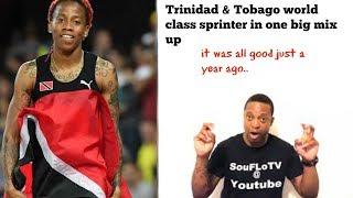 Trinidad and Tobago Sprinter what a piece a story
