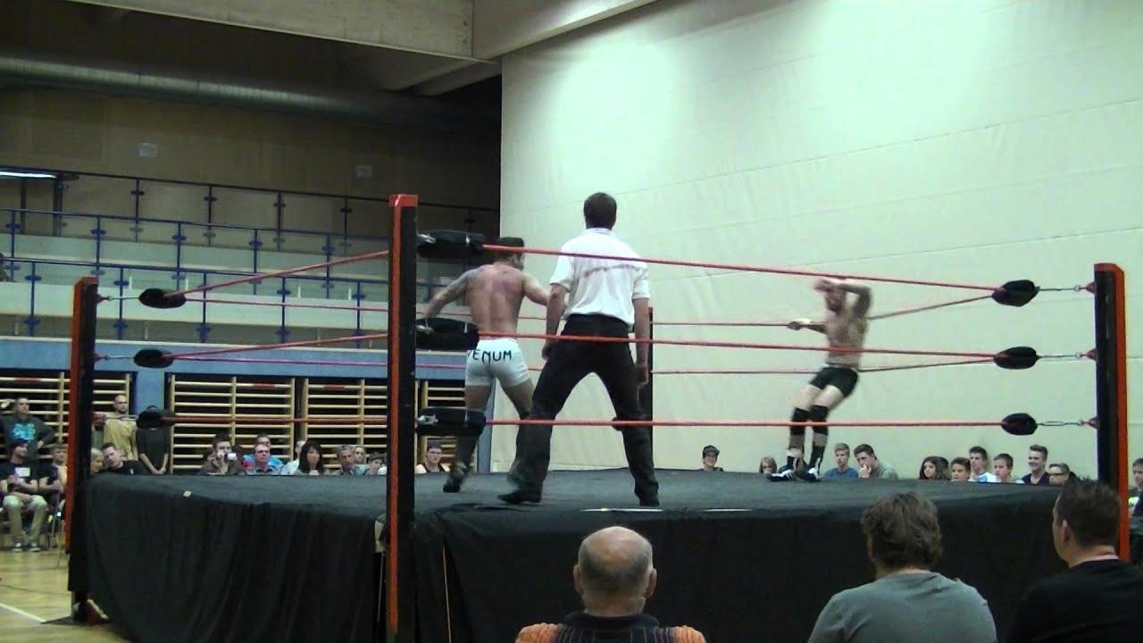 wrestling ukwa match mike j vs andi a pex