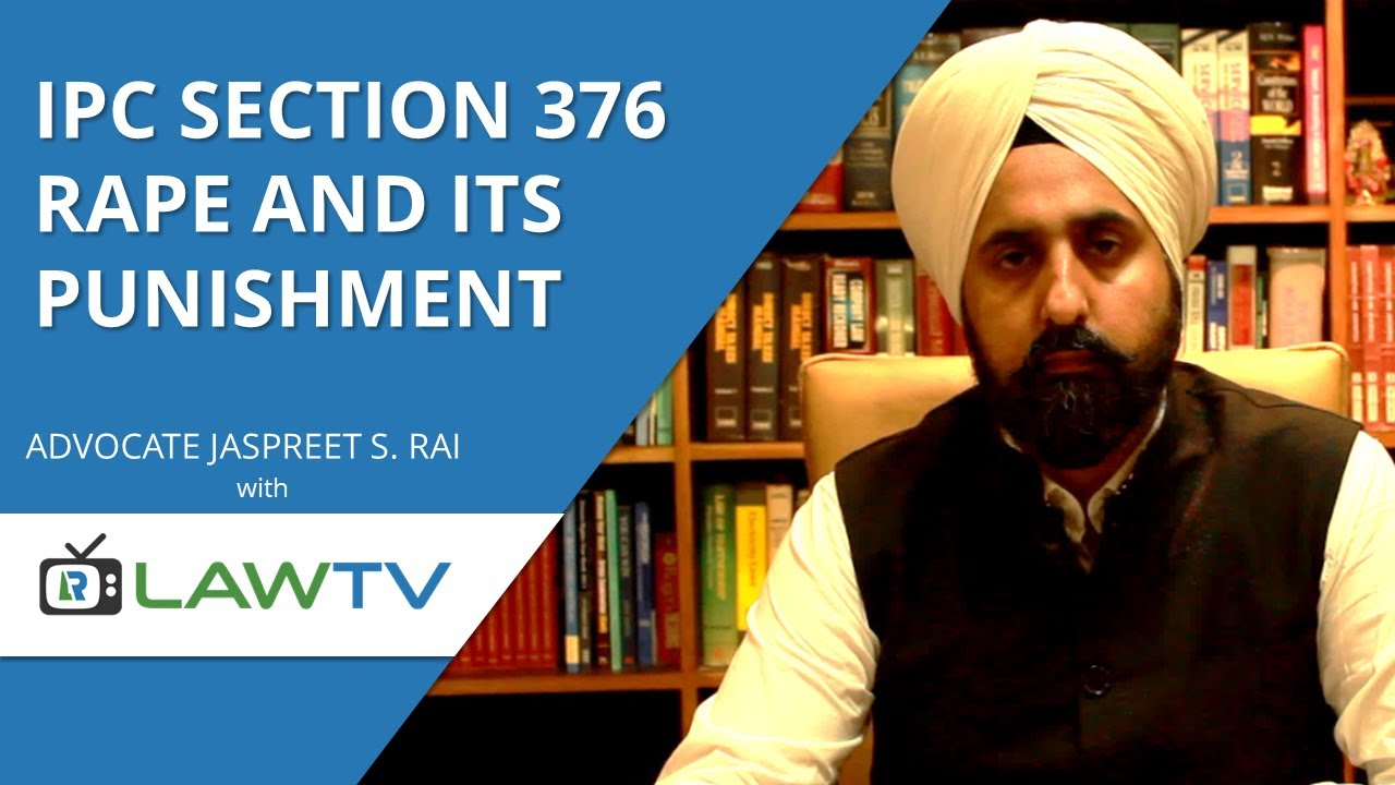 section 376 ipc deals with
