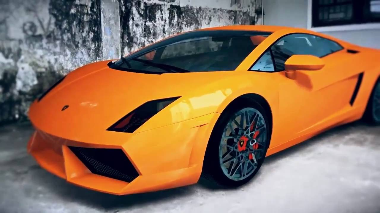 tracking after effects lamborghini