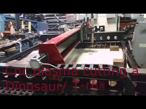 Cnc Plasma Cutting Torchmate 4x4 Table Youtube
