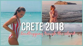 CRETE 2018!!! Roadtrip, swimming and foooood