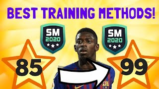 TRAINING AND PLAYER GROWTH EXPLAINED!! SM20 Beta | Soccer Manager 2020