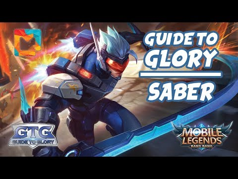 MGL Guide To Glory #30 Saber: The Spacetime Swordmaster | Mobile Legends: Bang Bang | MGL Indonesia thumbnail