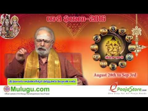Tula Rasi (Libra Horoscope) - August  28th - September 03rd