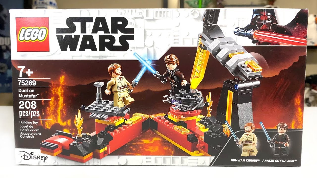 Lego Star Wars 75269 Duel On Mustafar 2020 Set Review Youtube
