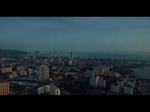 Georgetown, Penang by drone