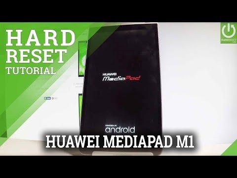 HUAWEI MediaPad M1 Hard Reset / Restore Android / Wipe Data