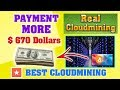 BEST REAL CLOUD MINING 2018 payment more $670 dollars (cobro + Inversión) Hashflare✔