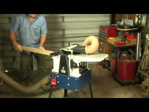 Testing the RIKON 25-010H Combination Planer/Jointer