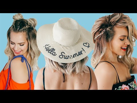 Short Hairstyles for Summer! – KayleyMelissa