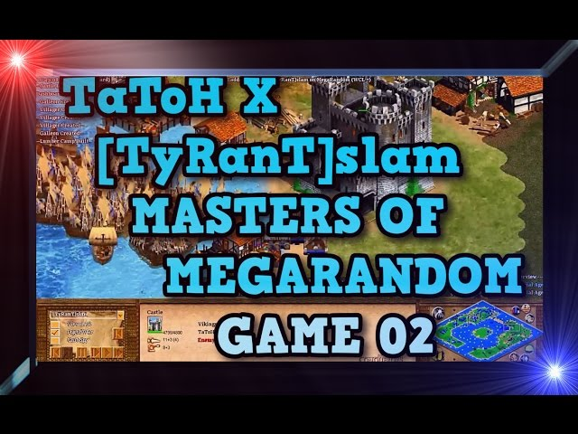 Age of Empires 2 HD TaToH X TyRanTslam Game 02 MoMR Round3 AoE2HD Gameplay PT BR