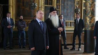 Рогожская слобода встретила президента звоном колоколов