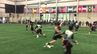 Land Of Opportunity Sports 12u Winter Indoor Flag Football Week 3 11/29/15