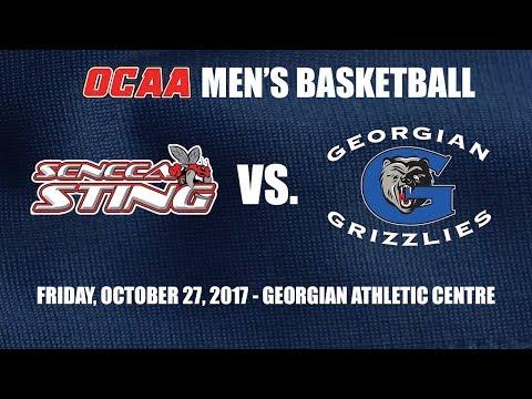 Men's Basketball - Seneca Sting @ Georgian Grizzlies