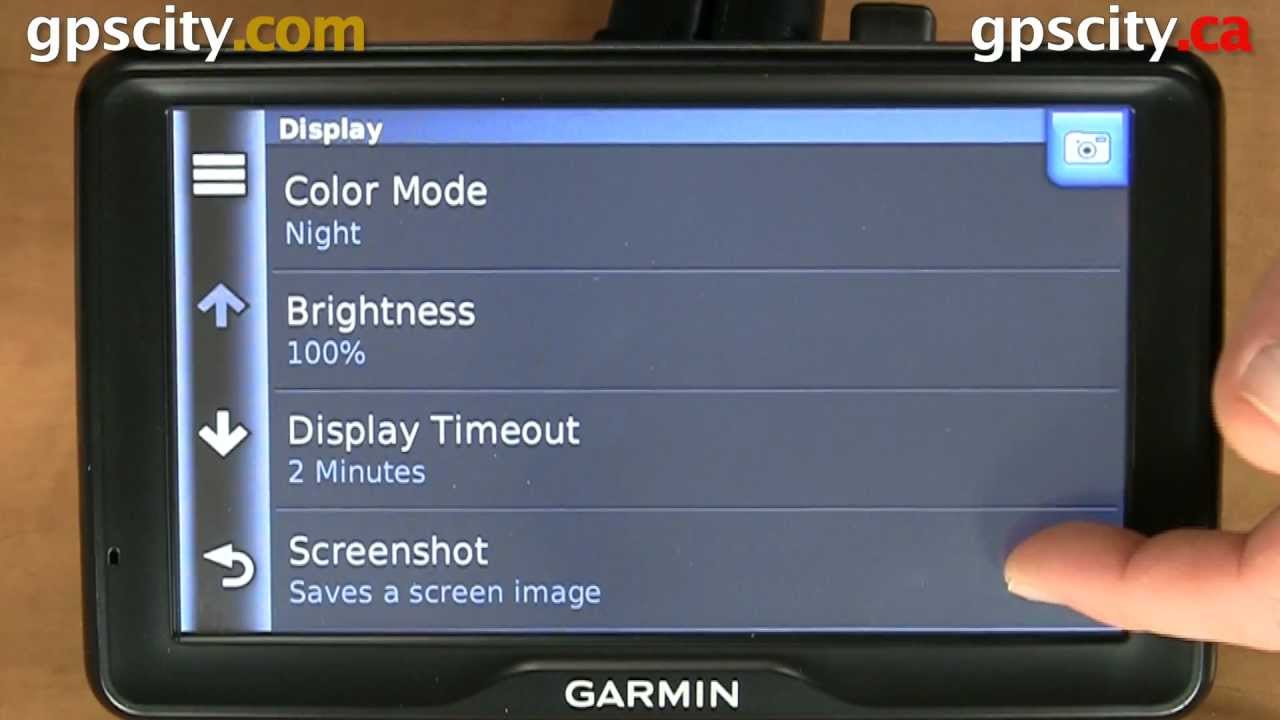 Display Settings in the Garmin dezl 760 Truck and RV GPS