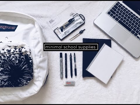 Minimal Back to School Supplies Haul 2017! (Philippines) | National Bookstore