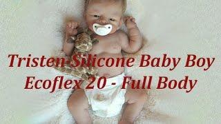 reborn box opening v19 very cute silicone baby boy tristen