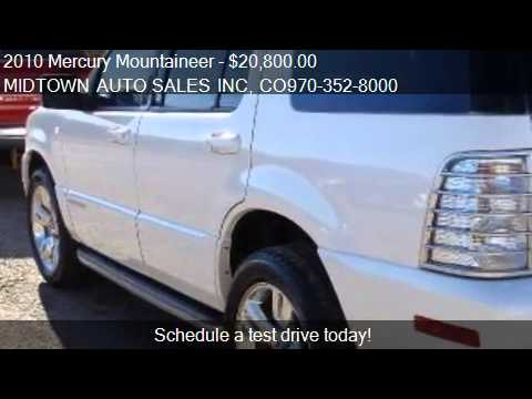 2010 mercury mountaineer premier 4 0l awd for sale in gree youtube. Black Bedroom Furniture Sets. Home Design Ideas