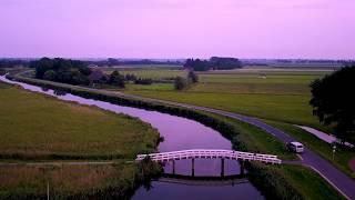 Dronebeelden Nederland - Brug Driehuizen