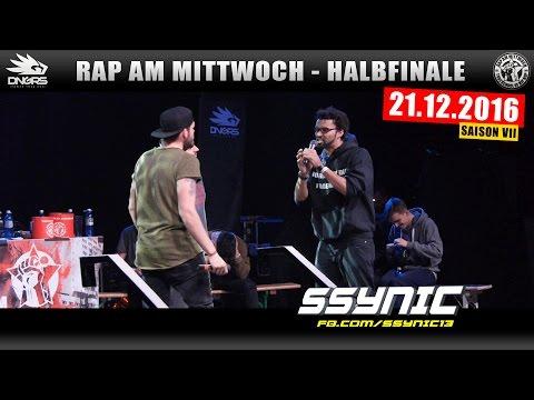 RAP AM MITTWOCH FRANKFURT: 21.12.16 BattleMania Halbfinale feat. SSYNIC uvm. (3/4) GERMAN BATTLE