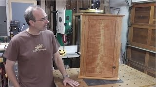 Weekend Project - Cherry Wall Cabinet -day Three
