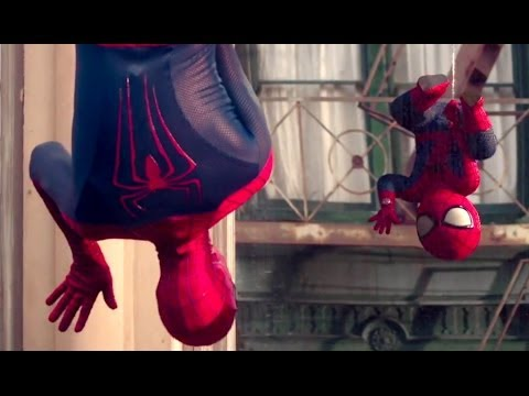 Evian SpiderMan Baby Advert Goes Viral YouTube - Awesome video baby spiderman dancing