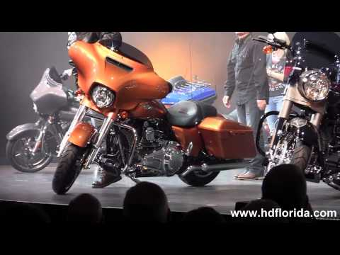 New 2014 Harley Davidson Touring Models