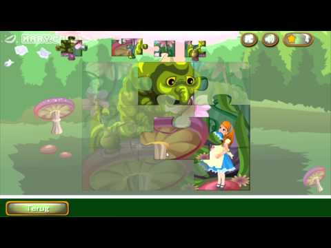Alice In Wonderland Puzzles - Free Mobile Puzzle Games Tutorial For Litle Boys And Girls - Mary.com