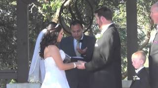 Hamilton Wedding at Boulder Springs with Hand Fastening Ritual