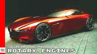 50 Years Of Mazda Rotary Engines
