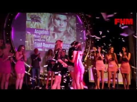 FHM Buurmeisje verkiezing 2012