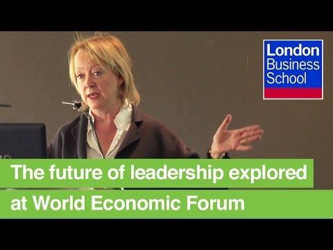 Lynda Gratton, World Economic Forum 2013, Davos | London Business School