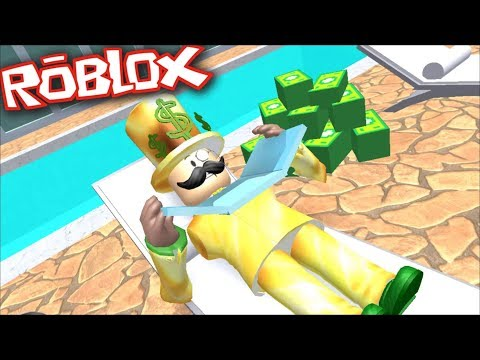 Roblox RICH OBBY / BECOME A ROBBER AND ROB EVERYONE'S MONEY IN ROBLOX !! Roblox