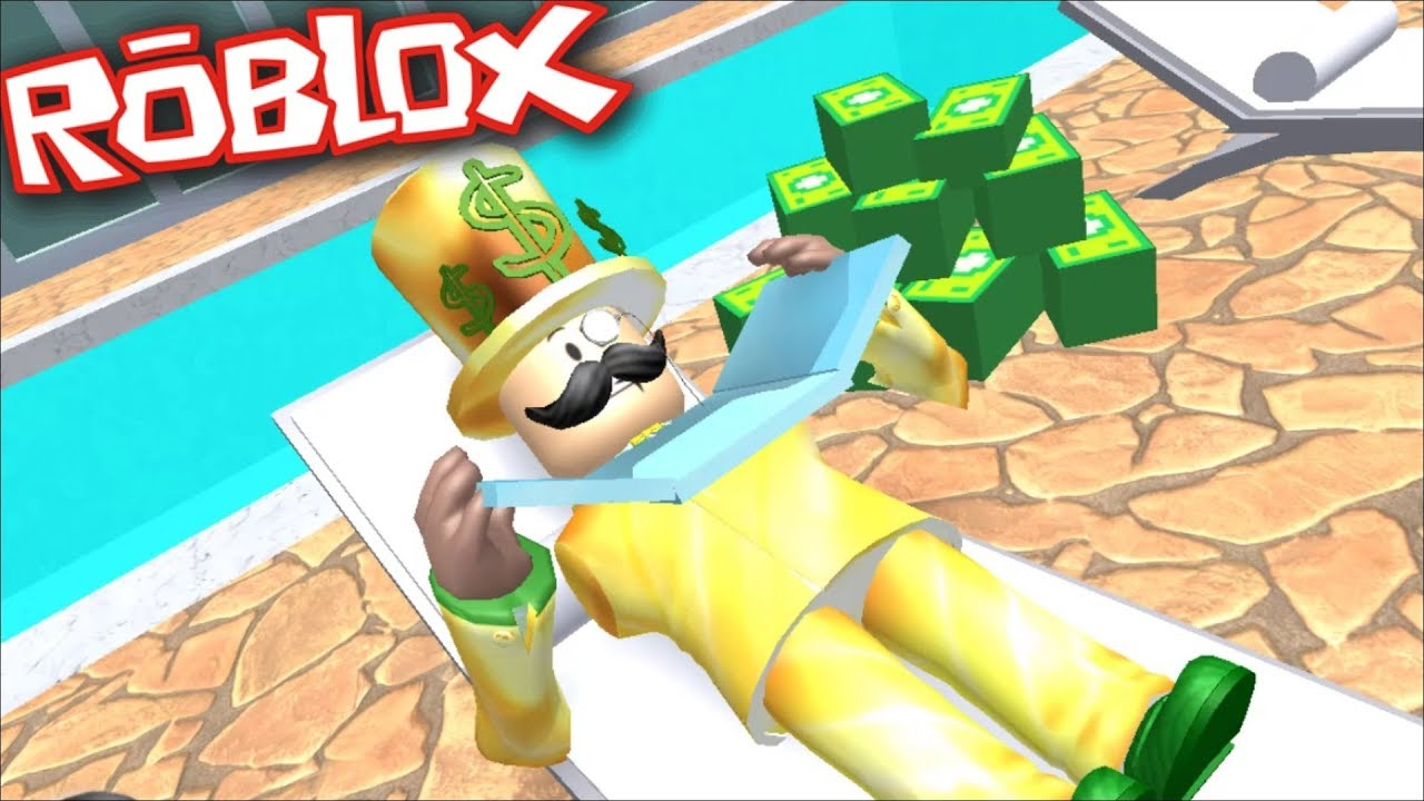 Roblox Rich Obby Become A Robber And Rob Everyone S Money In