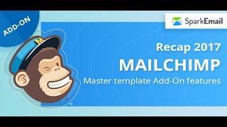 Mailchimp master template 2017 features: Recap
