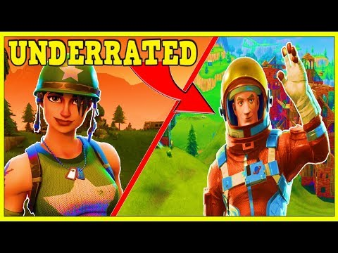10 MOST UNDERRATED SKINS IN FORTNITE! (YOU MUST BUY THESE!)