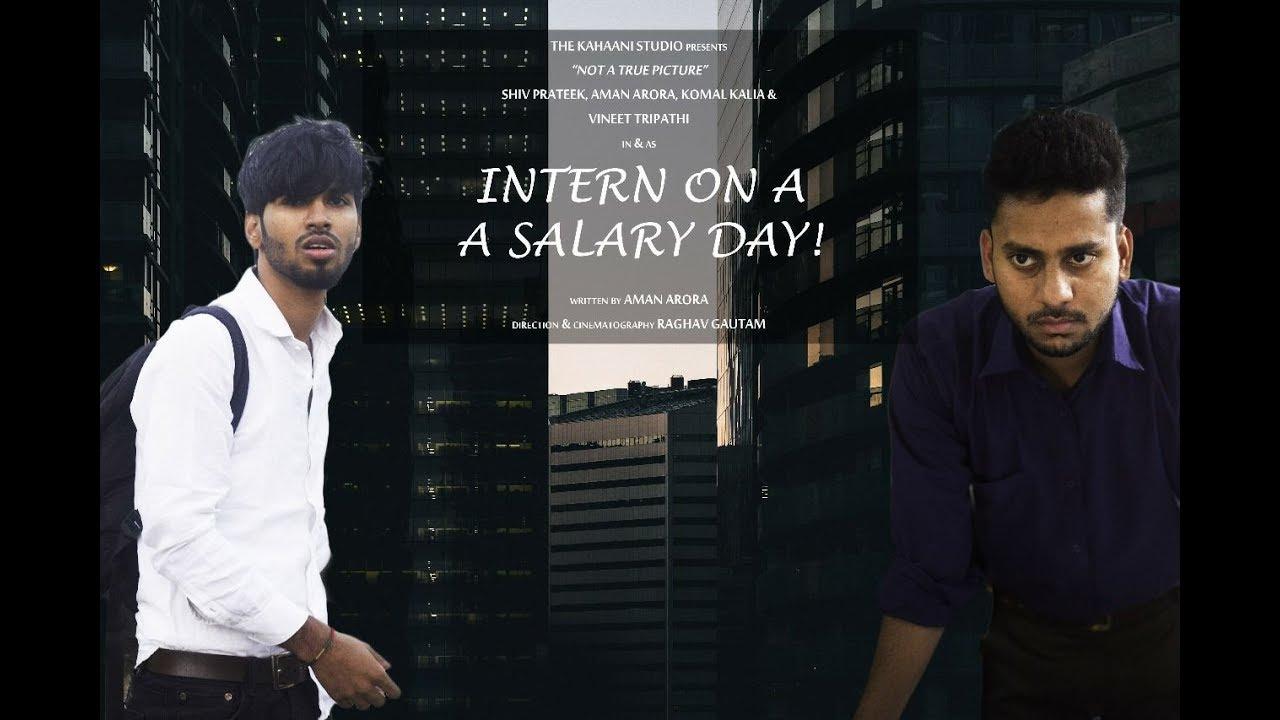 Intern on a Salary Day | Corporate Humor | A Wednesday Parody | HR Jokes
