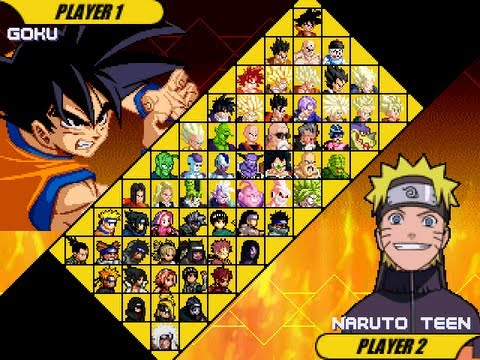 mugenmundo dbz online dragon ball z vs naruto mugen edition by ristar87
