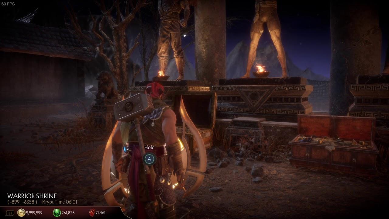 Mortal Kombat 11 Location Of Gold Kronika Vault For Kitana S